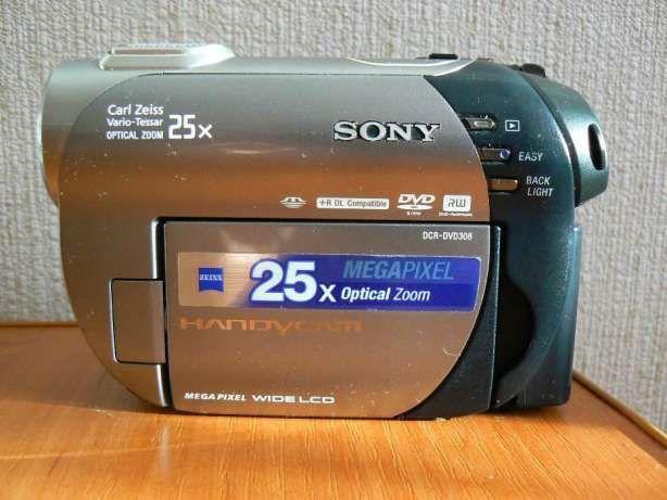 Видеокамера SONY DCR-DVD 308E