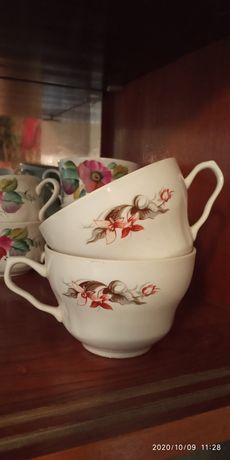 Красивые советские чашки