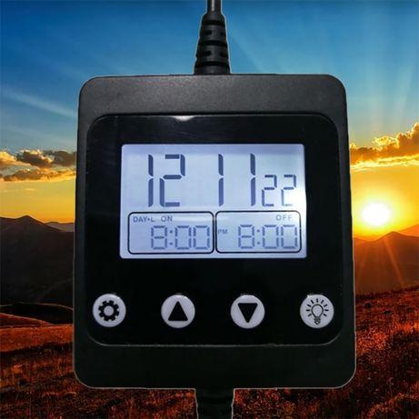 Simulador Amanhecer Anoitecer LED 5V 12V 24V - Aves e Aquários