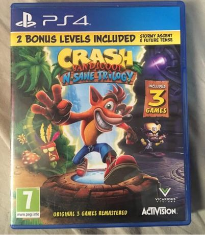 Gra Crash Bandicoot na ps 4