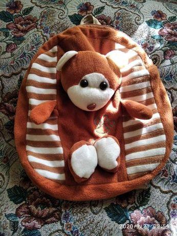 Дошкольный рюкзак- игрушка
