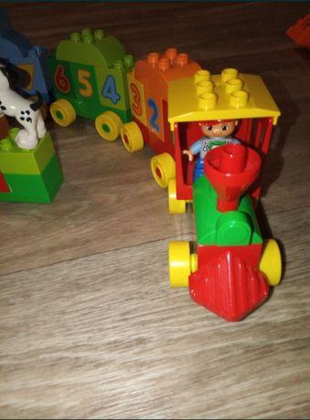 Lego duplo паровозик, паровозик