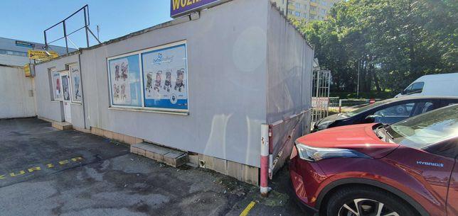 Pawilon handlowo-usługowy, 40m2, ocieplony, alarm, parking, Bemowo.