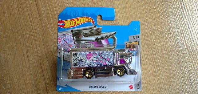 Hot Wheels Raijin Express