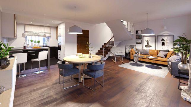 Mieszkanie 2-kondygnacyjne 5-pokojowe z tarasem 2 miejsca postojowe