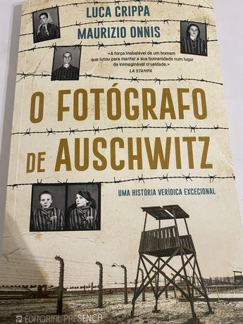 Livro , O Fotografo de Auschwitz