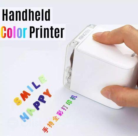Портативный струйный принтер цветной (mbrush princube kongten)