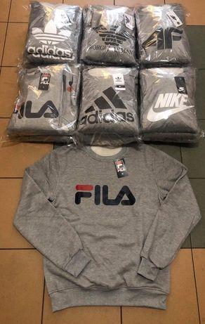 Bluzy meskie z logo Fila Adidas Nike kolory M-XXL!!!