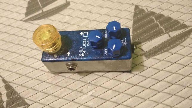 analogowy chorus ce 2 na oryginalnych chipach boss ce 2 i analogman