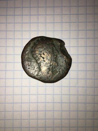 Монета Древнего Рима.Сестерций . Сестерций. Марк Аврелий 161-180 гг