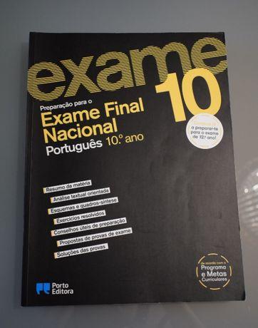 Preparação para o Exame Final Nacional Português 10ºano, Porto Editora