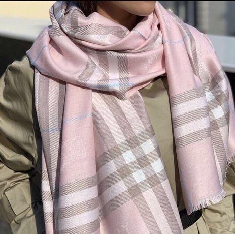 Шарф Burberry Розовый