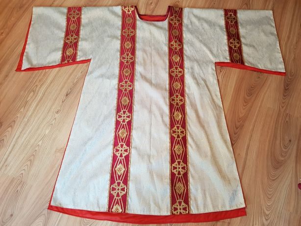 Dalmatyka liturgiczna, szata, gotycka, ornat