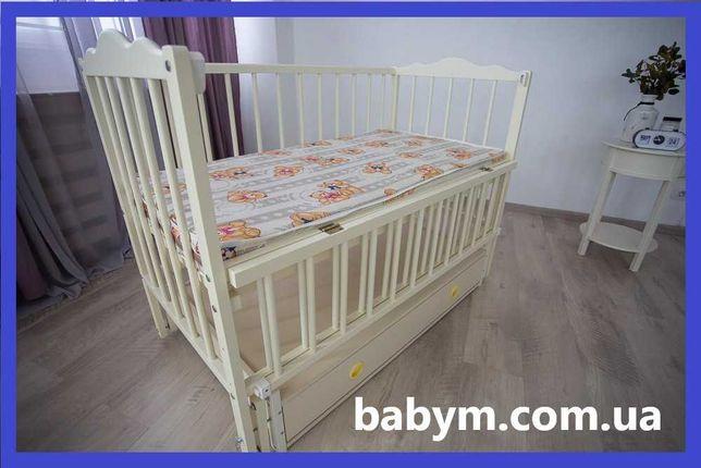 Ліжко дитяче, ліжечко, колиска, БЕЗКОШТОВНА доставка, Льв.5