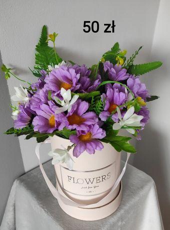 Flower box, sztuczne kwiaty, dekoracje