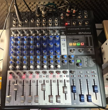 Mixer / Interface Presonus AR12 Studiolive USB