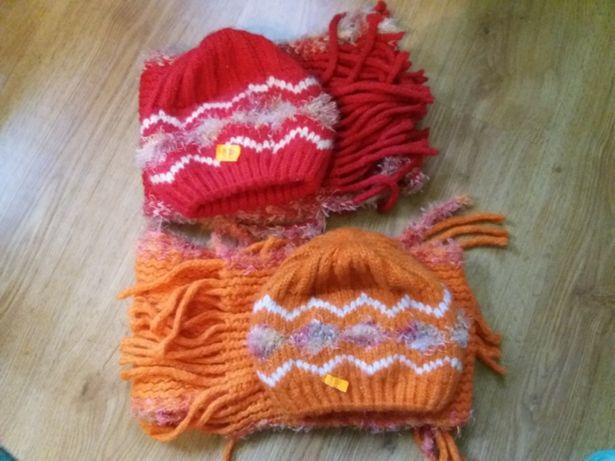 Nowe komplety czapki+szaliki, 2-4 lat