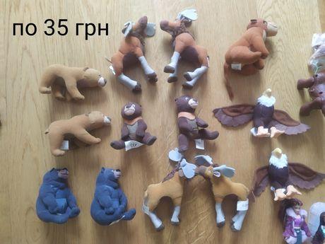 Игрушки Макдональдс, Киндер коллекция бегемотиков