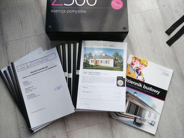 Sprzedam projekt Z273a lustrzane odbicie + projekt płyty fundamentowej