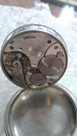 Relógio bolso raríssimo vintage 1913 Ômega Railway 15 jw Swiss Impec.