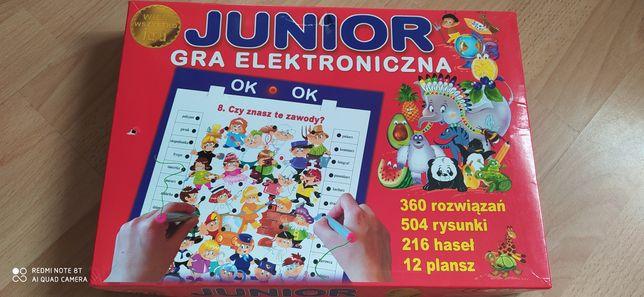 Gra elektroniczna- 6 plansz