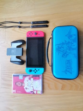 Nintendo Swich + Joy-CON Red&Blue