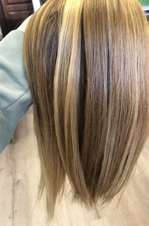 Волосы для наращивания славянские блонд и русые словянские славянка