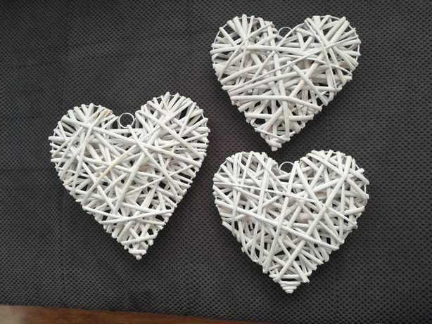Ratanowe białe serca
