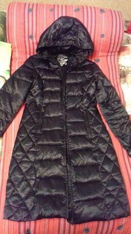 Куртка-пальто пуховик 44-46 р