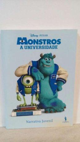 Livro Monstros A Universidade