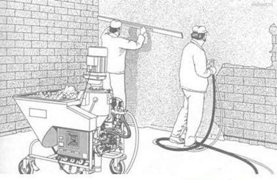 Машинная штукатурка стен и потолков в Черкассах и Черкасской области