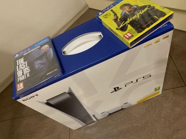 PS5 PlayStation 5 Nowa napęd GRY