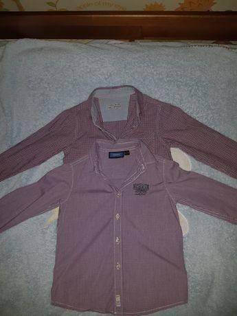 Рубашки Zara, Mexx 3-4 роки