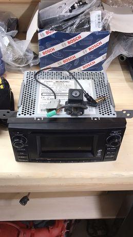 Продам автомагнітолу subaru forester + камера + кнопки на руль
