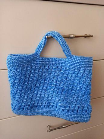 Новая плетеная сумка