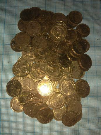 Монеты по 1 копейке
