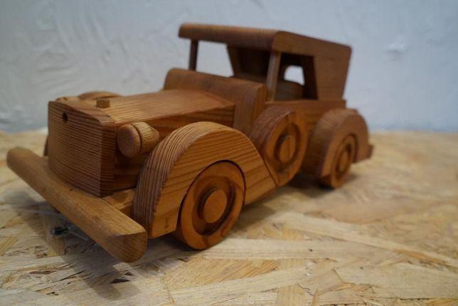 Stary Samochód drewniany OLDTIMERS