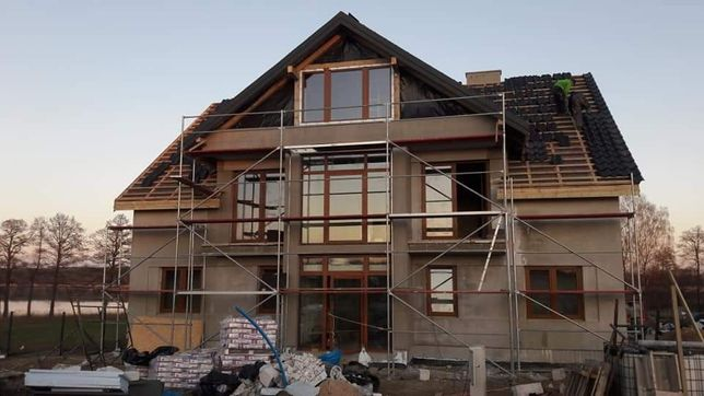 Firma Budowlana przyjmie zlecenia na budowę domów / elewacje /remonty