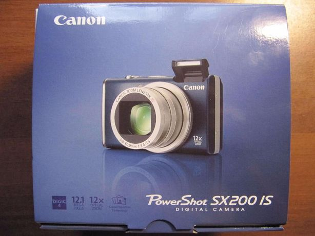 Фотоаппарат Canon SX200 is