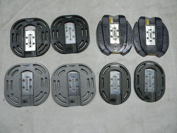 Płyty talerze HEAD PPI 34szt pod rentalowe wiązania snowboardowe