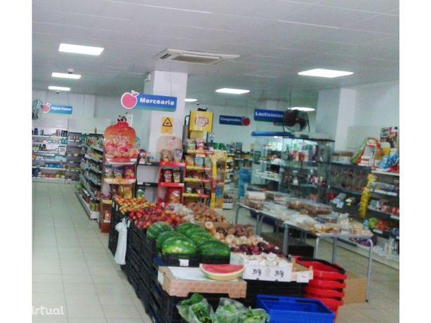 Alverca Centro, Supermercado em funcionamento venha conhecer