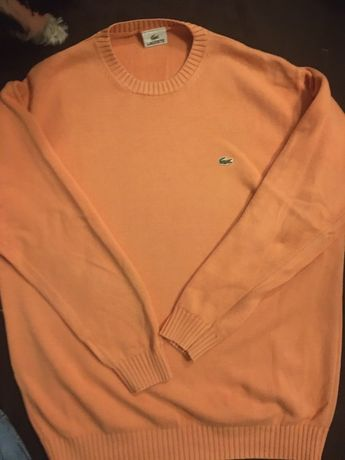 Sweter lacoste roz 7 Xl