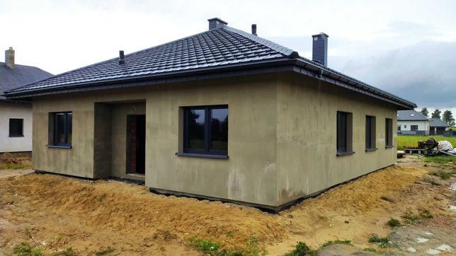 Nowy dom jednorodzinny, wolnostojący - Rząśnia, ul. W. Reymonta