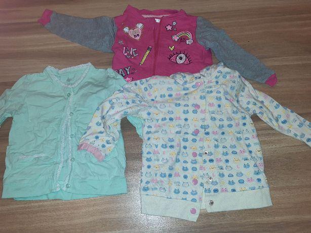Bluzy dziewczęce rozmiar 86