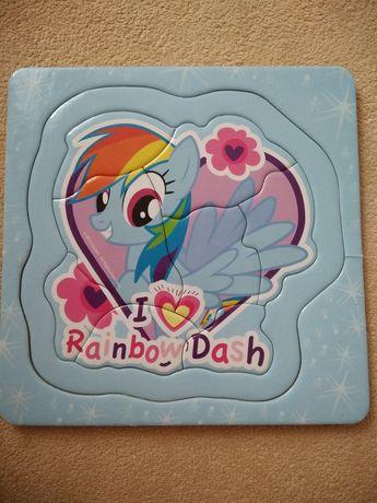=>Puzzle 8 el. My little pony
