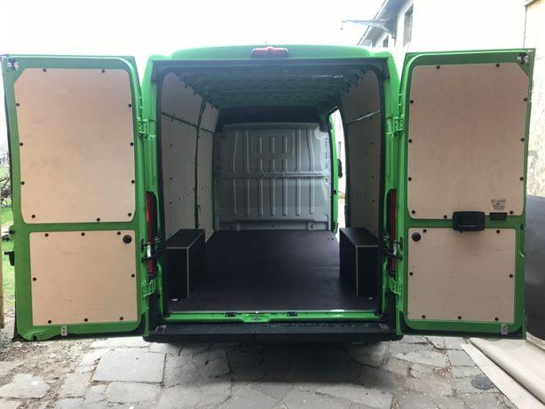 Zabudowa busa busów Jumper Boxer Ducato L3H2 - CNC