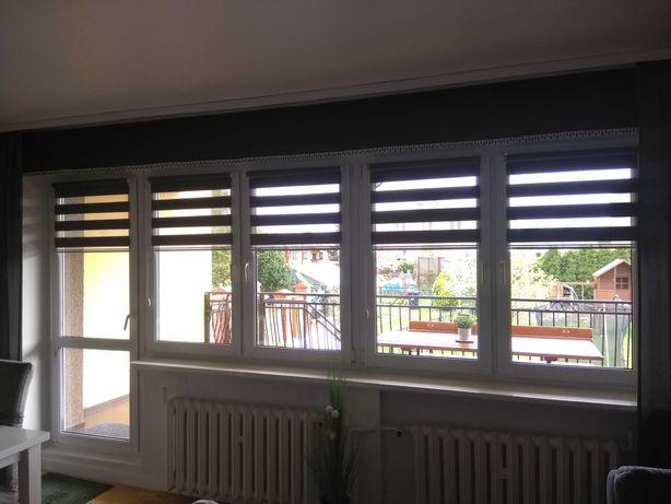 Okna pcv z demontażu szerokość ok 400 cm.