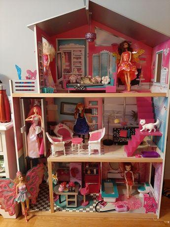 Casa de bonecas em madeira (Barbie)
