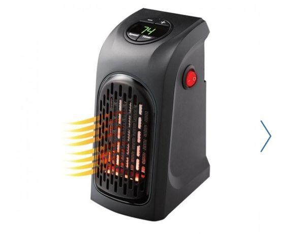 Портативный тепловентилятор мини электрообогреватель дуйка комнатный в