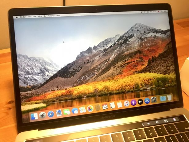 "MacBook Pro 13"" 2018 i5 A1989, 16GB RAM, 512GB SSD - nowa bateria!"